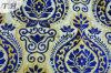 Bangladesh-blaues Chenillegewebe 330GSM (fth31822)