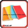 Plastic espiral Cover Notebook para School