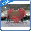 Outdoor Coração insufláveis gigantes do balão de helio