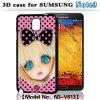 Caso 3D para Samsung Nota 3 ( N3 V613 )