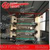 Corona fora de linha máquina de impressão tratada de Flexo para HDPE/PP