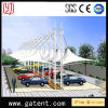 PVDF exterior de acero estructura de la tienda de coches Aparcamiento