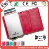 크레딧 사업 플라스틱 ID 금속 카드 홀더를 막는 주문 장소 RFID