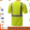 T-shirt élevé r3fléchissant de visibilité de sûreté antistatique de qualité supérieur