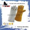 Gant de travail de sécurité industrielle en soudure en cuir au vachette