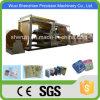 SGS Bolsa de papel Kraft marrón automático que hace la máquina para el cemento