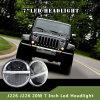 최신 판매 7  지프 Wrangler&#160를 위한 LED;  LED Ring&#160를 가진 LED 헤드라이트;
