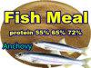 Fische Feed Powder mit Protein 65%Min