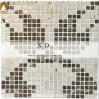 Marmeren Mozaïek van de Vloer van de Mengeling van Absoluto van Scorption het Zwarte Witte (XD M008)
