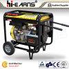 Tipo de frame aberto refrigerado a ar jogo de gerador Diesel do único cilindro (DG8000E3)