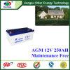 Bateria Lcpa12-250 acidificada ao chumbo