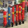 Cylindre télescopique hydraulique pour le cylindre hydraulique à longue course de camion-