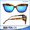 Lentes modificadas para requisitos particulares marca de fábrica del OEM de la vendimia de las gafas de sol de Demi de las mujeres