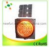 Sinal de tráfego Solar Strobe Light LED Luz de advertência