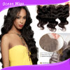 brasiliano Virgin Remy Body Wave Human Hair Lace Frontal Closure di 8A Grade 100%