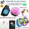 3G GPSのSosボタンD18が付いているスマートな子供の追跡者の腕時計