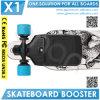 Новая конструкция рекламирует электрический форсированный скейтборда