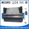 160/4000 de máquina de dobra do freio da imprensa hidráulica do CNC e da placa de aço