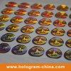 Logo 주문 Laser 제 2 3D Gold Security Hologram Label Sticker