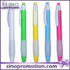 Stylo de boule de publicité en plastique de couleur bon marché de stylo à bille