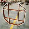 صنع وفقا لطلب الزّبون مضلّع تصميم ألومنيوم إطار خاصّ نافذة