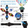 telefone esperto do relógio de Bluetooth do pulso 3G/Android com frequência cardíaca Dm368
