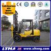 Neuer kleiner 3 Tonnen-Japan-Motor-Dieselbehälter-Mast-Gabelstapler
