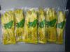 Желтая промышленная работа Glove-5706 латекса
