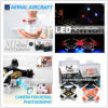 Nieuwe Cheerson 2.4G 4CH 6-as RC MiniQuadcopter CX-10c Kleinste RC Quadrocopter met Camera 0.3MP