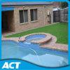 40 milímetros de césped artificial del jardín para ajardinar la hierba L40