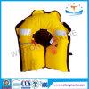 Камера воздуха двойника спасательного жилета желтого Ce автоматическая раздувная с проводкой