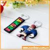 Concevoir l'aimant en fonction du client de réfrigérateur de PVC avec l'ouvreur de bouteille pour Noël (YB-B0-01)