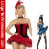 Traje atractivo del carnaval de la señora dos colores
