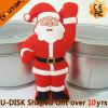 Выдвиженческий диск USB рождества Santa Claus подарков (YT-Санта)