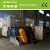 Sola máquina de la desfibradora del eje de la potencia del terrón plástico grande de la basura