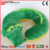 Course en U Neckpillow de jouet de crocodile animal mou de peluche