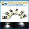 차 테일 회전 램프 전구를 위한 최고 백색 DC 12V 2SMD W5w T10 Canbus LED 빛