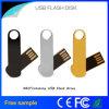 Disco de destello del USB de Waterphoof del eslabón giratorio multicolor de encargo del metal