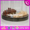 新しいデザイン子供の教育ゲームの木のチェス盤W11A054