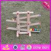 Игрушка рельса 2016 оптовых малышей деревянная, игрушка рельса смешного младенца деревянная, игрушка W04e002 рельса детей высокого качества деревянная