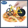Utensili antiaderanti della bicicletta delle lamierine dell'affettatrice della rotella doppia della taglierina della pizza dell'acciaio inossidabile