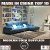 Moderne Freizeit L Form-Leder-Sofa (Lz8816)
