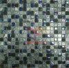 Mezcla de vidrio de colores del arco iris mosaico de mármol gris (CS133)