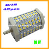 iluminación al aire libre de interior ahorro de energía de la CA de la lámpara 85-265V de 10W R7s 42PCS 5050 SMD LED (OT-361)