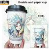 Бумажная конструкция кофейной чашки