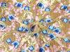 Новая цветастая ткань шнурка способа вышитая 3D Bridal