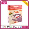 Pequeñas bolsas de papel del regalo del arte del almacén de juguete de los niños del mono