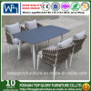 2018 Nuevo diseño de tejido de la correa de juego de comedor Muebles de exterior