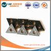 Hartmetall-indexierbare Einlage für metallschneidendes