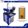 Máquina plástica da marcação do laser do CO2 do cartão da caixa CI do carbono da tecla
